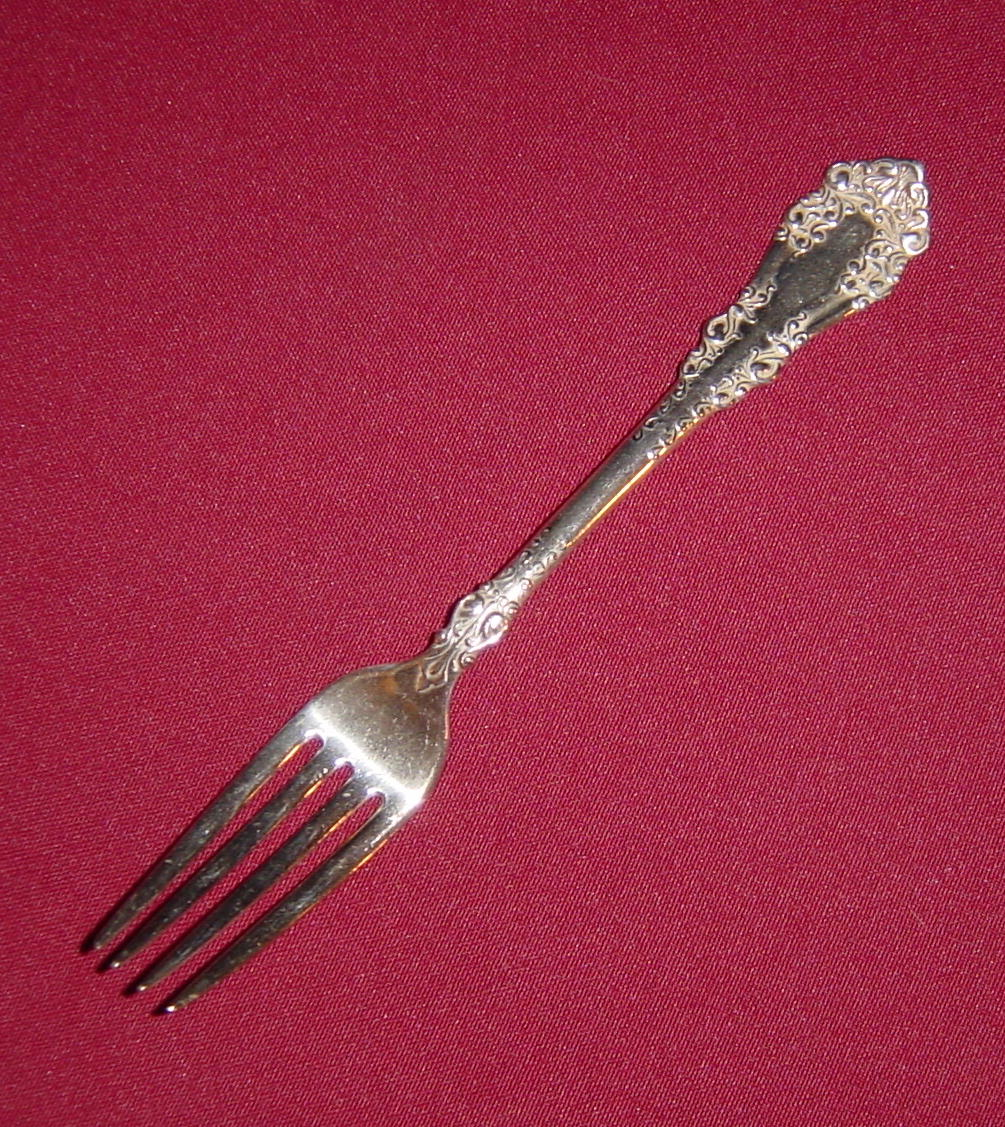 1847 Rogers Bros Silverplate Berkshire Dinner Fork