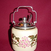 Walker and Hall Sheffield Mustard or Condiment Pot