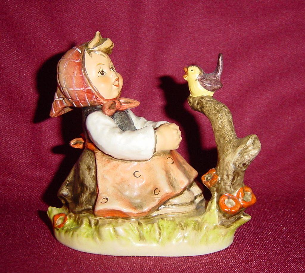 Goebel hummel in tune figurine model from