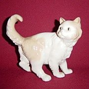 Early NAO Frightened Kitten Porcelain Figurine