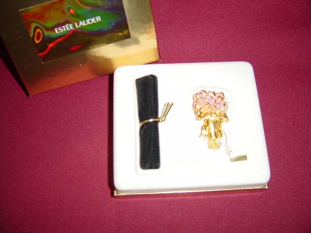 Estee Lauder Flowering Bouquet Solid Perfume Compact
