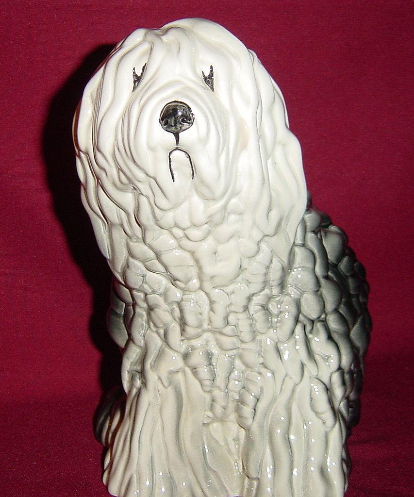Beswick Old English Sheepdog, Seated, Model 453