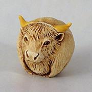 Harmony Kingdom Roly Poly Hardy the Bull Figurine Box