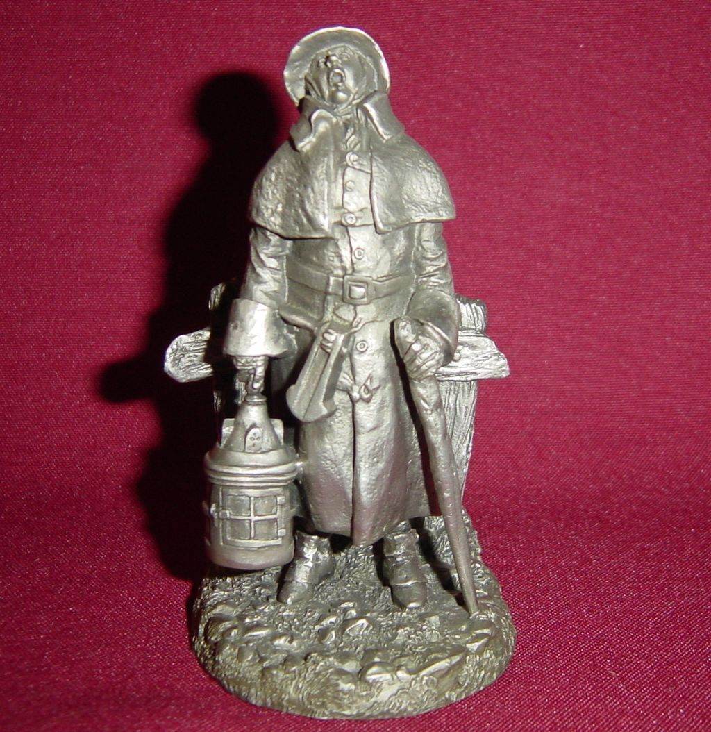 The Watchman from Franklin Mint Street Seller of Old London Town