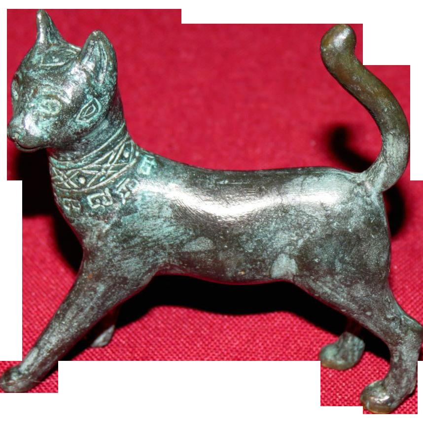 Franklin Mint Han Dynasty Curio Cabinet Cat