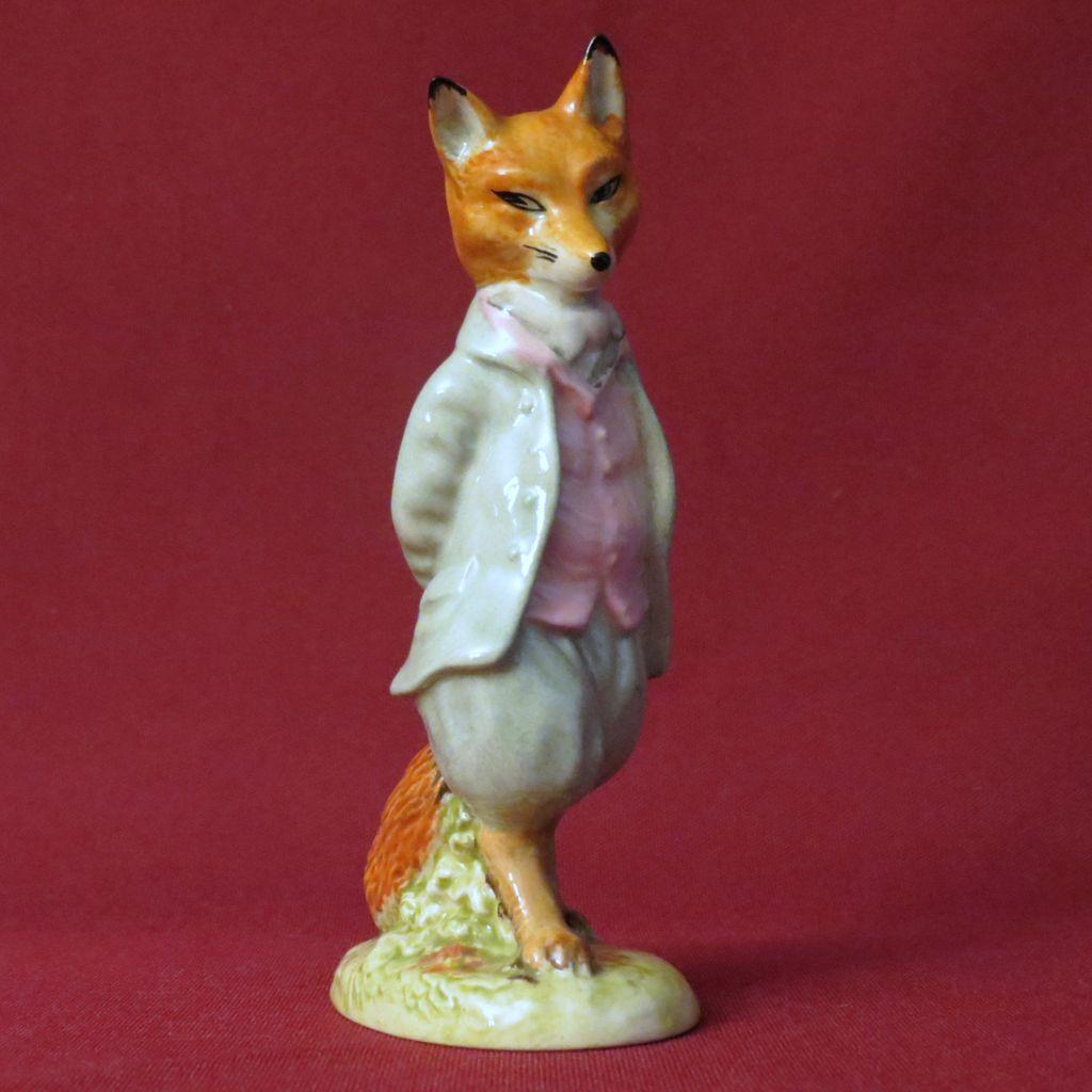 Beswick beatrix potter foxy whiskered gentleman bp a