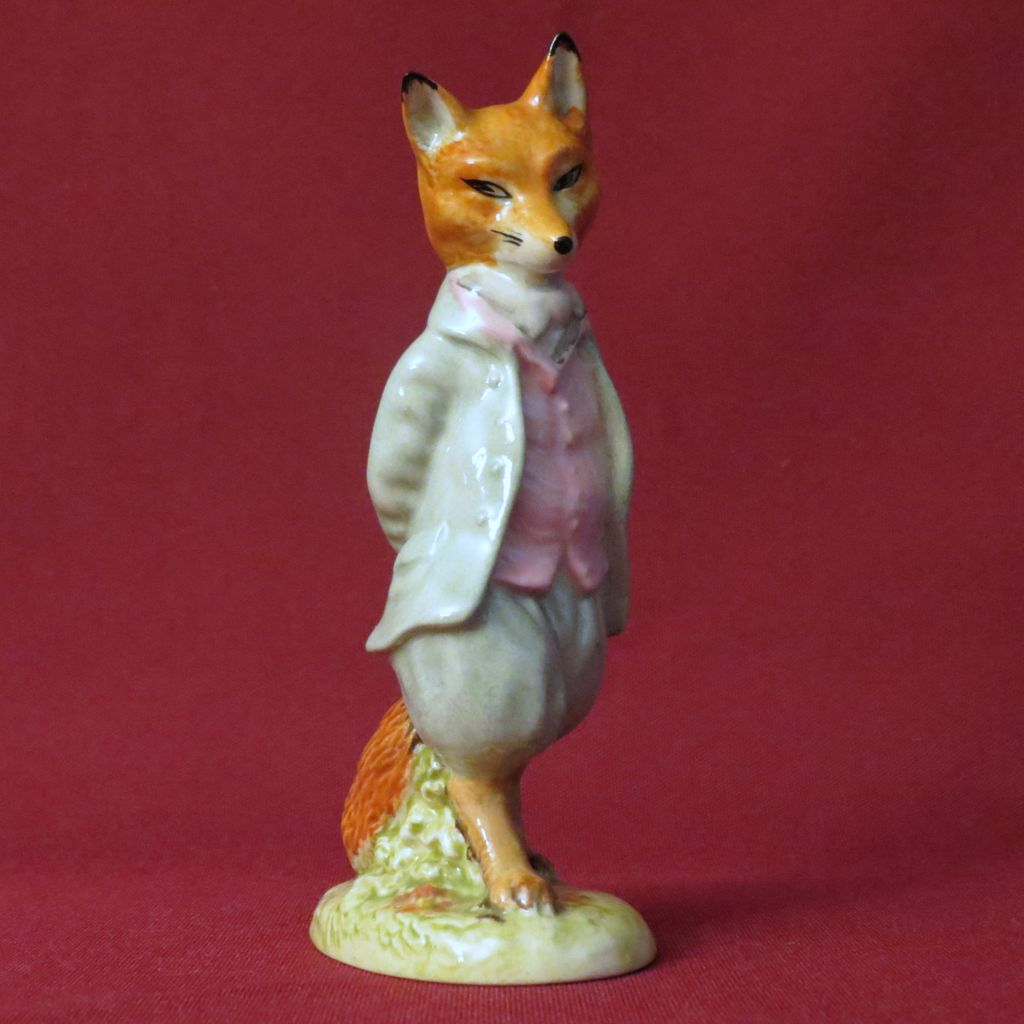 Beswick Beatrix Potter Foxy Whiskered Gentleman BP-3a
