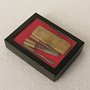 German Celluloid Mini Manicure Set
