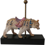 Cybis Carousel Bear Bernhard Limited Edition