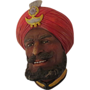 Legend Sikh Wall Mask Head