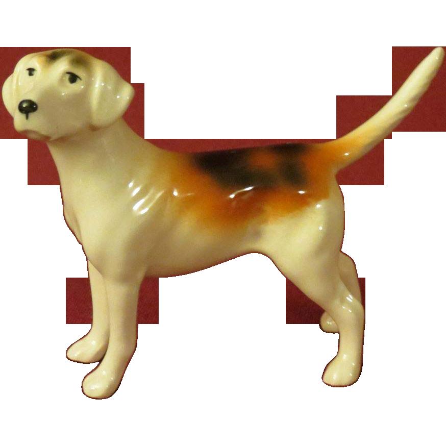 Beswick foxhound dog figurine model from alleycatlane