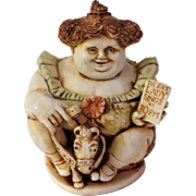 Harmony Kingdom Pavareata Circus Fat Lady Figurine Box