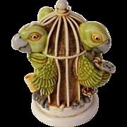 Harmony Kingdom Great Escape Treasure Jest Figurine Box with Parrots
