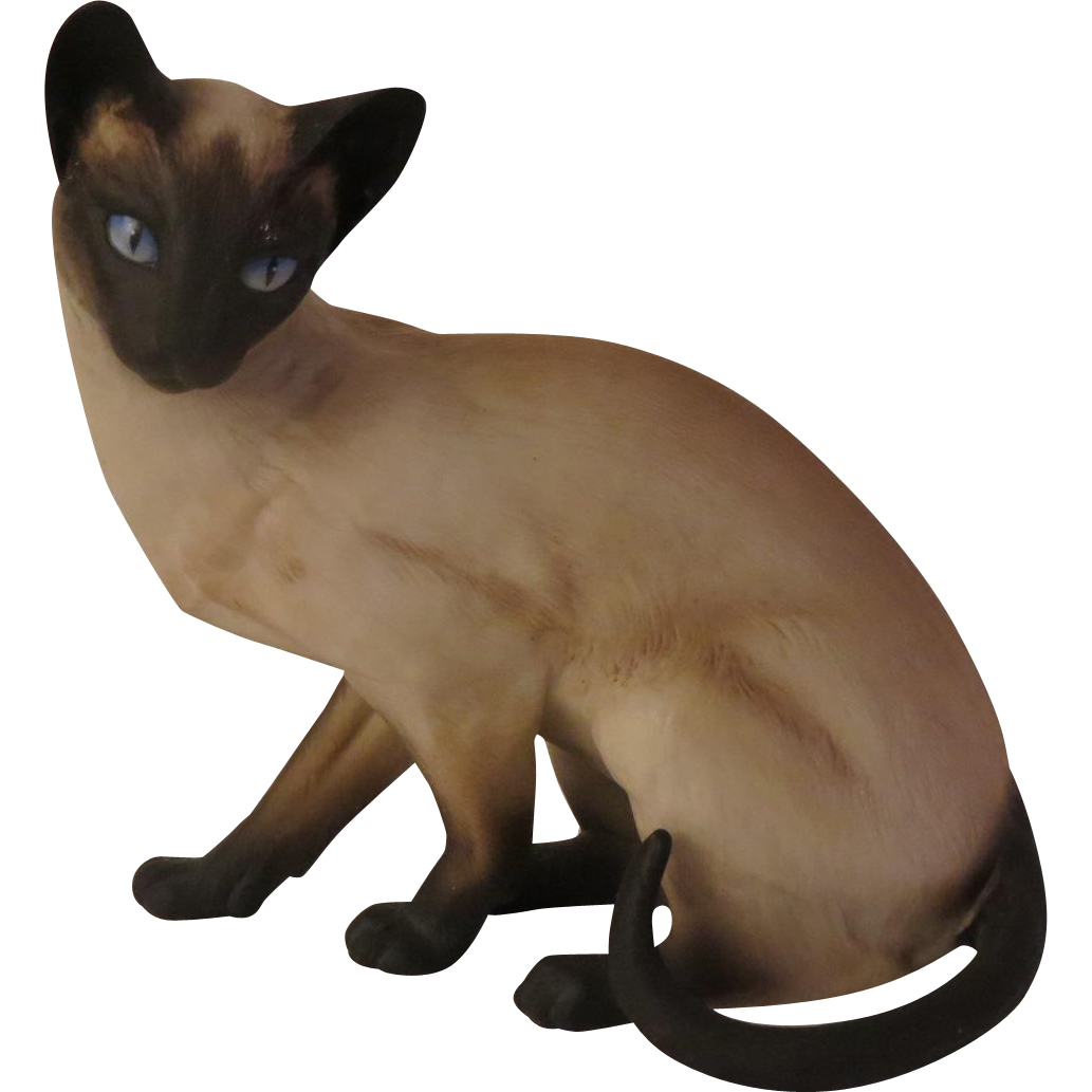 Eric Tenney Anticipation Cat Figurine