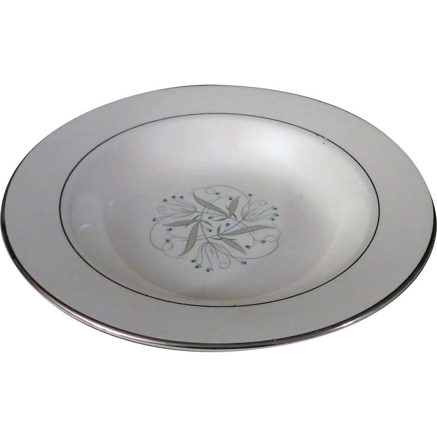 Homer Laughlin Celeste Soup Bowl