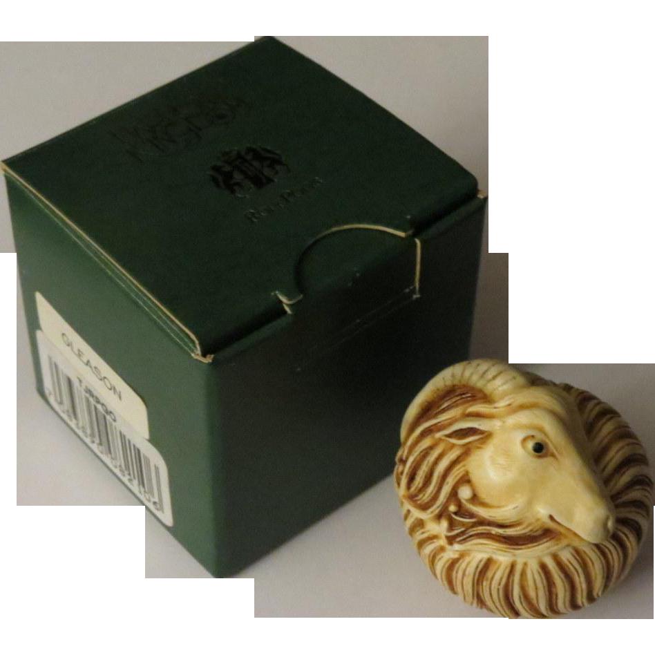 Harmony Kingdom Roly Poly Gleason Treasure Jest Box Figurine
