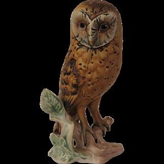 Goebel Barn Owl Porcelain Figurine