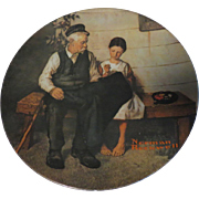 Norman Rockwell Collector Plate The Lighthouse Keeper's Daughter