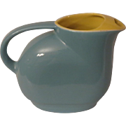 Hall Blue and Daffodil Adonis Water Pitcher for Westinghouse
