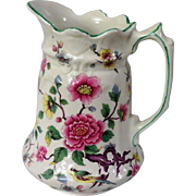 James Kent Old Foley Chinese Rose Pitcher