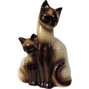 Texans Incorporated Kron Siamese Cat and Kitten TV Lamp