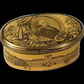 Bilston and Battersea Joseph Haydn Enamel Box for Cartier