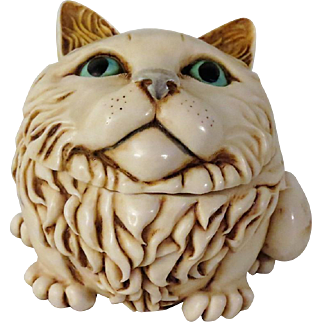 Signed Harmony Kingdom Fat Cat's Meow Special Edition Event Piece