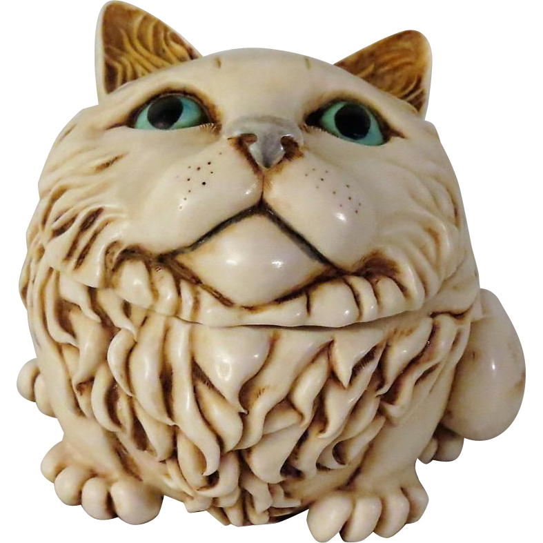 Signed Harmony Kingdom Fat Cat S Meow Special Edition