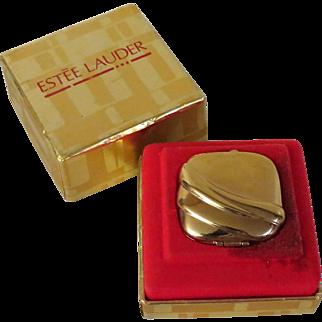 Estee Lauder Golden Sculpture Solid Perfume Compact