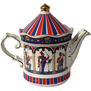Sadler Edwardian Entertainments Band Stand Teapot