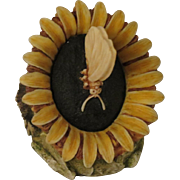 Harmony Kingdom Sunflower Box Figurine