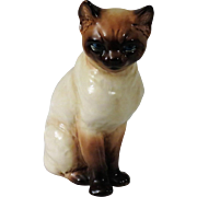 Goebel Siamese or Burmese Cat Figurine from West Germany
