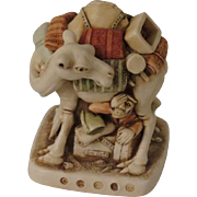 Harmony Kingdom Package Tour Small Treasure Jest Box Figurine with Camel Infinity Version
