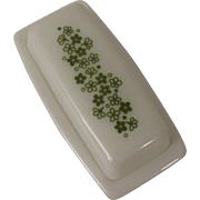 Corning Pyrex Crazy Daisy or Spring Blossom Butter Dish Matches Corelle