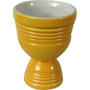 Vintage Hankscraft Yellow Double Egg Cup Go Along for Fiesta