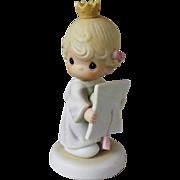 Samuel Butcher Precious Moments Congratulations Princess Figurine