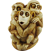 Harmony Kingdom Inside Joke Treasure Jest Box Figurine with Monkeys