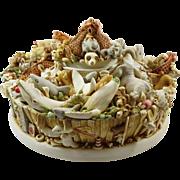 Harmony Kingdom Sin City Awesome Signed Limited Edition Treasure Jest Box Figurine with 143 Animals