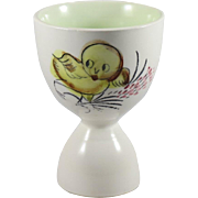 Vintage Baby Chick Double Egg Cup from Japan