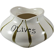 Holt Howard Base to Pixieware Olives Condiment Jar