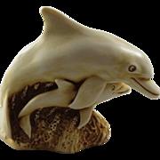 Harmony Kingdom Treasure Jest NetsUKe Squee the Dolphin