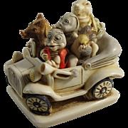 Harmony Kingdom Fab 5 Party Boys Royal Watch Collectors Club Treasure Jest Box Figurine