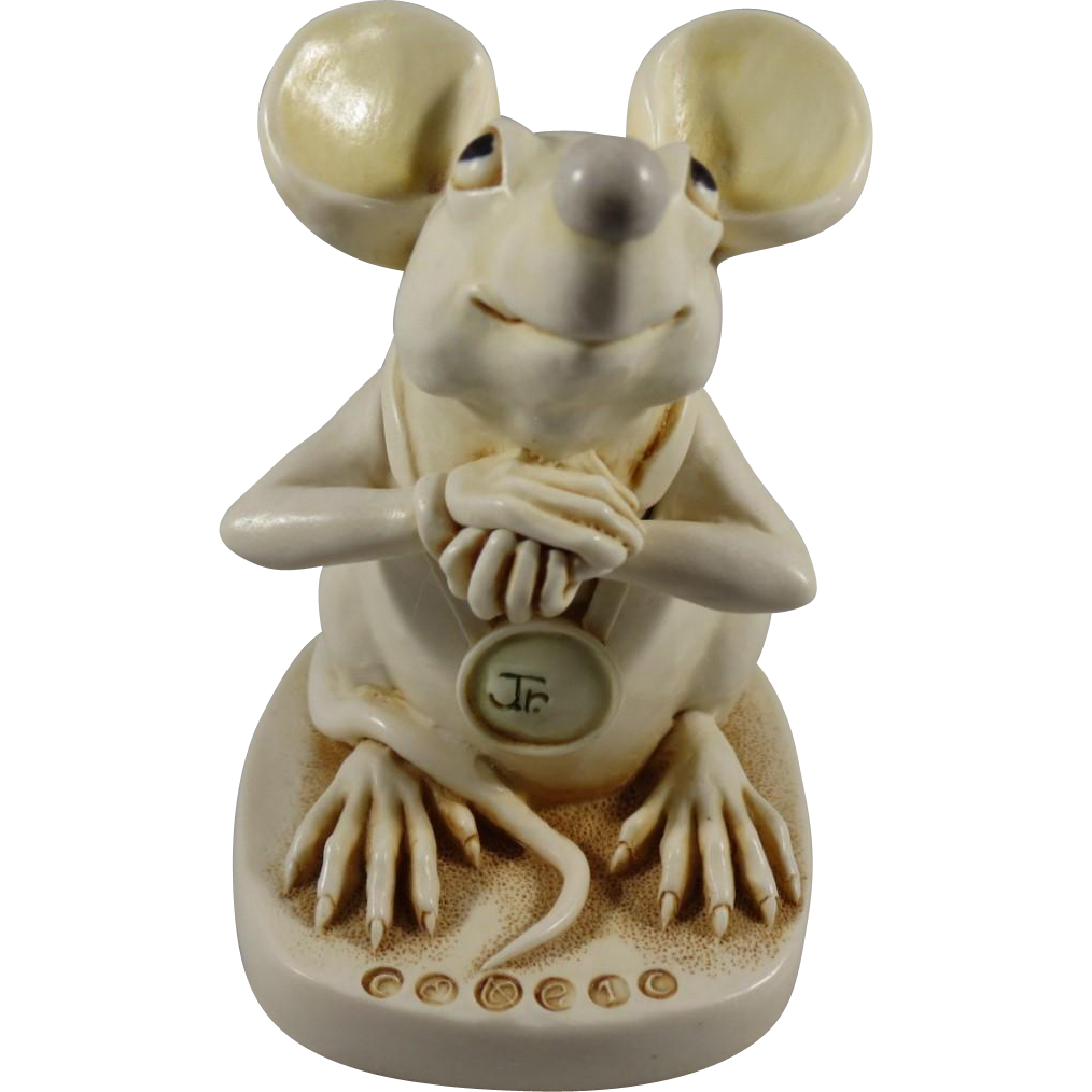 The Mouse That Roared Harmony Kingdom Treasure Jest Box Figurine Exclusive for Club members