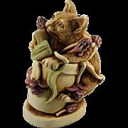Harmony Kingdom Algenon Treasure Jest Box Figurine Version One