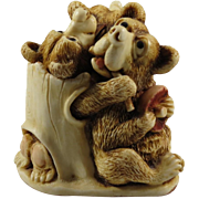 Harmony Kingdom Oktobearfest Treasure Jest Box Figurine Special Event Piece
