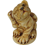 Harmony Kingdom Orange Crush Treasure Jest Box Figurine with Tiger Cub