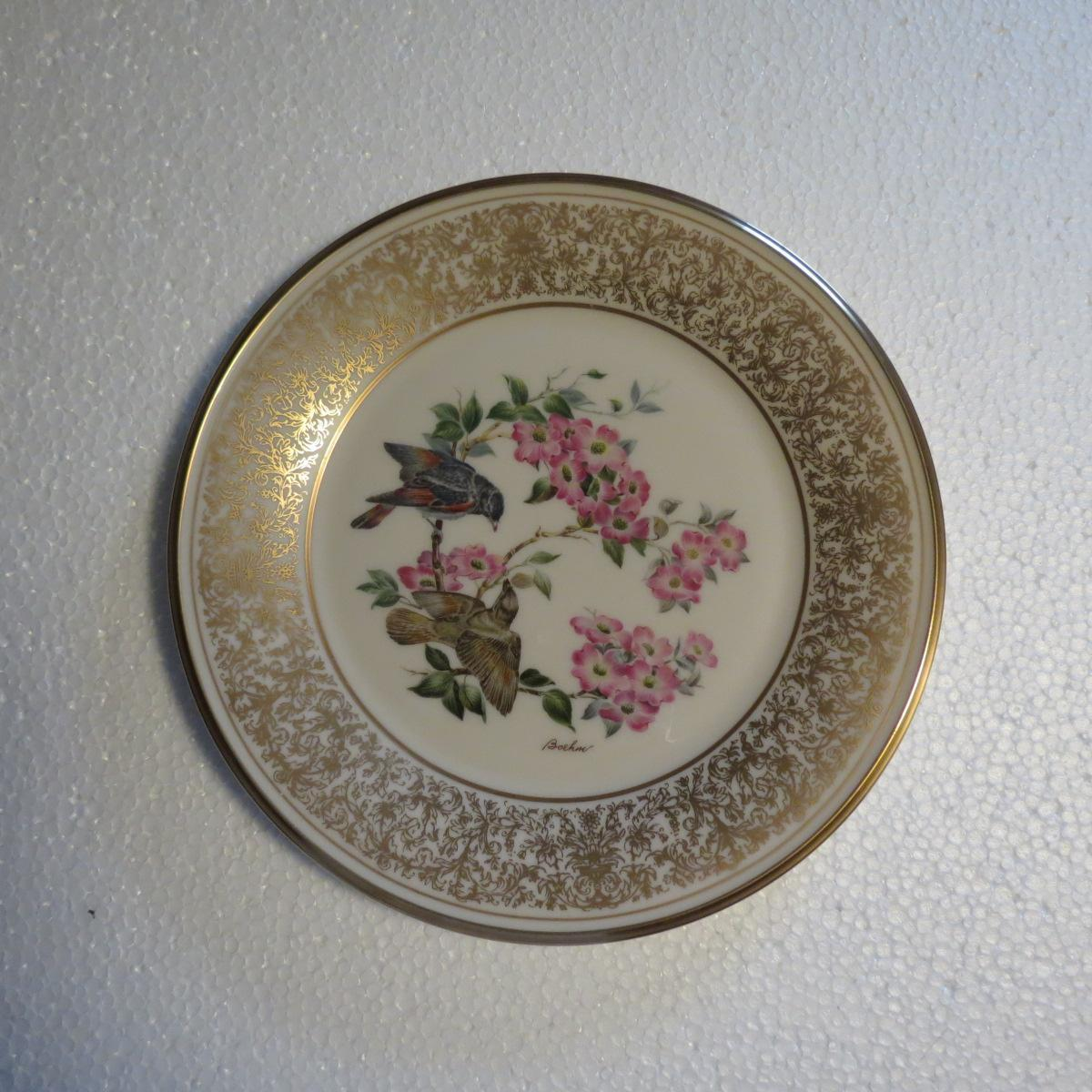 Lenox Boehm American Redstart Limited Edition Collector Plate