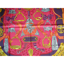 Authentic Never Used  Hermes Scarf:  Thalassa Vivid Colors, Original Gift Box - Red Tag Sale Item