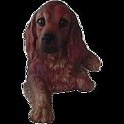 Gorham Nature's Gallery Irish Setter Dog Bisque Figurine