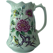 James Kent Chinese Rose Milk Pitcher